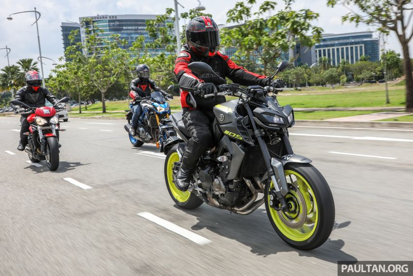 Honda CB650F, Kawasaki Z900 ABS, Triumph 765S, Yamaha MT-09 – which RM50k bike is best for you? Image #829430