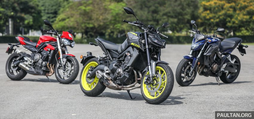 Honda CB650F, Kawasaki Z900 ABS, Triumph 765S, Yamaha MT-09 – which RM50k bike is best for you? Image #829380
