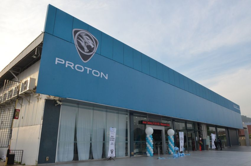 Proton launches upgraded 4S centre, new light blue CI Image #825038