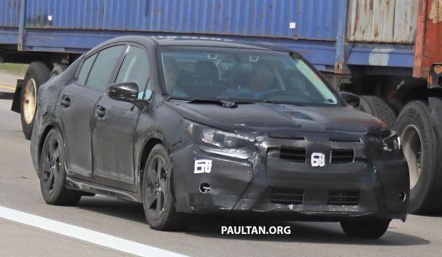Spyshots 2020 Subaru Legacy Spotted Road Testing