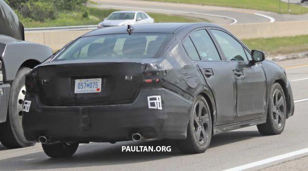 SPYSHOTS: 2020 Subaru Legacy spotted road-testing