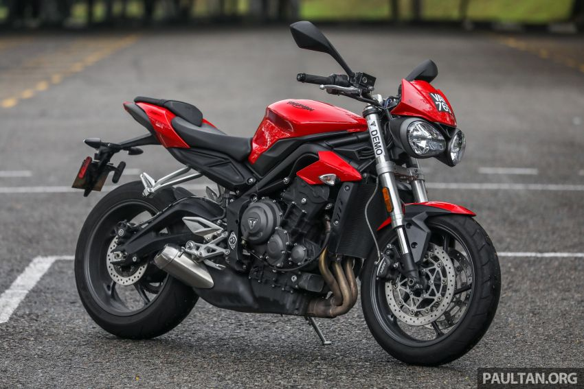 Honda CB650F, Kawasaki Z900 ABS, Triumph 765S, Yamaha MT-09 – which RM50k bike is best for you? Image #829584