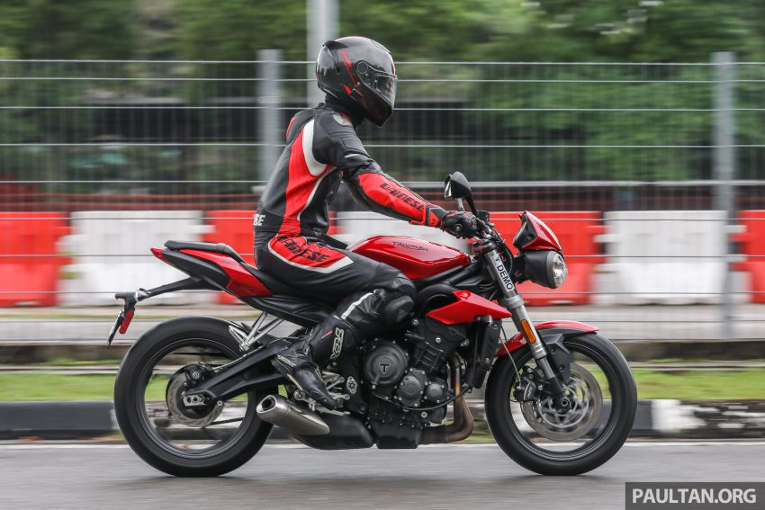 Honda CB650F, Kawasaki Z900 ABS, Triumph 765S, Yamaha MT-09 – which RM50k bike is best for you? Image #829632