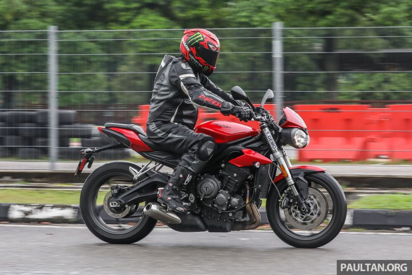 Honda CB650F, Kawasaki Z900 ABS, Triumph 765S, Yamaha MT-09 – which RM50k bike is best for you? Image #829634