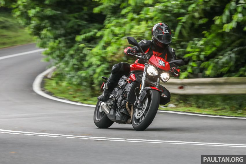 Honda CB650F, Kawasaki Z900 ABS, Triumph 765S, Yamaha MT-09 – which RM50k bike is best for you? Image #829636