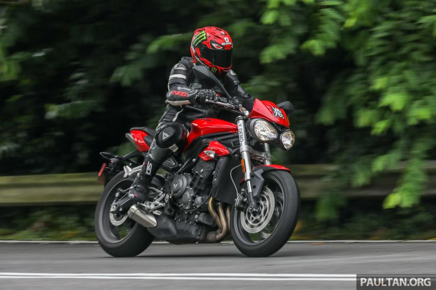 Honda CB650F, Kawasaki Z900 ABS, Triumph 765S, Yamaha MT-09 – which RM50k bike is best for you? Image #829639