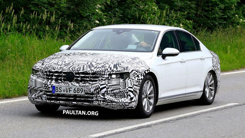 SPIED: Volkswagen Passat facelift to get Arteon look? Image #827178