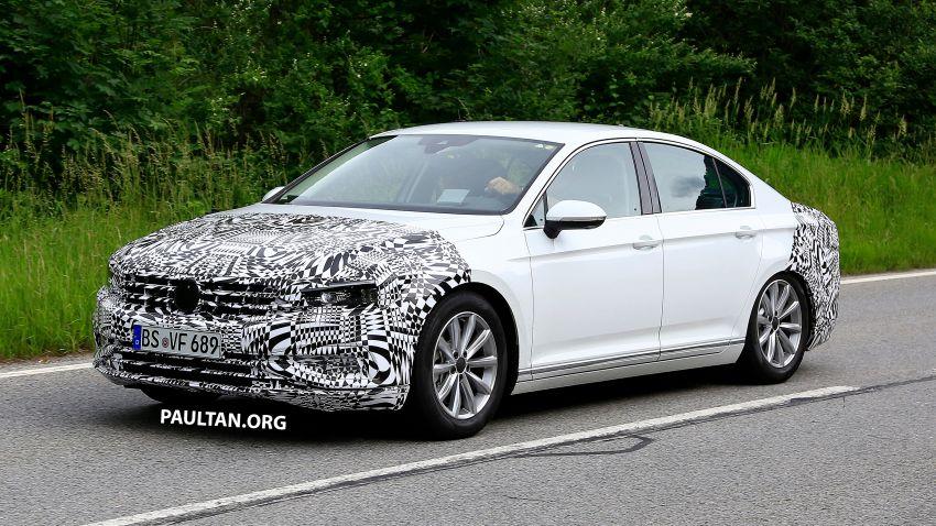 SPIED: Volkswagen Passat facelift to get Arteon look? Image #827179
