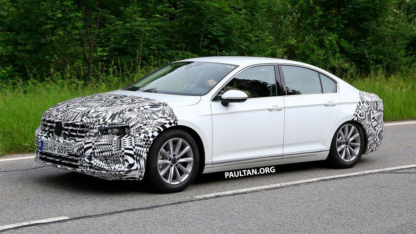 SPIED: Volkswagen Passat facelift to get Arteon look? Image #827180