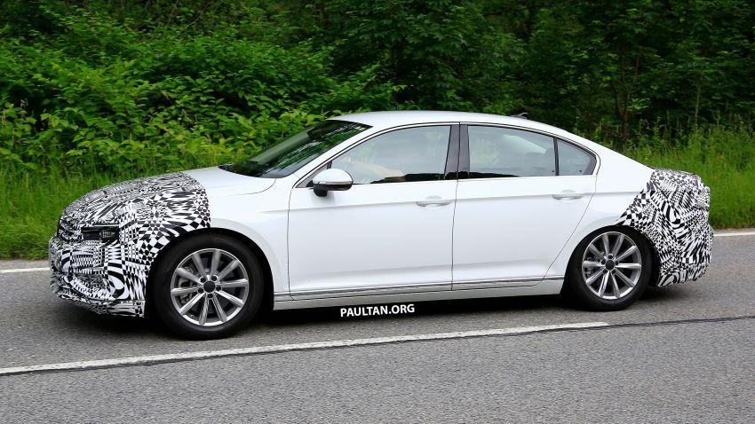 SPIED: Volkswagen Passat facelift to get Arteon look? Image #827181