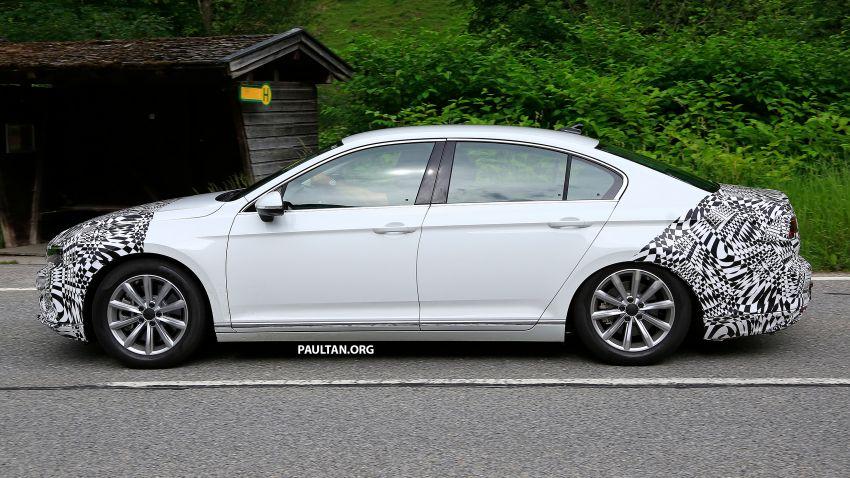 SPIED: Volkswagen Passat facelift to get Arteon look? Image #827182