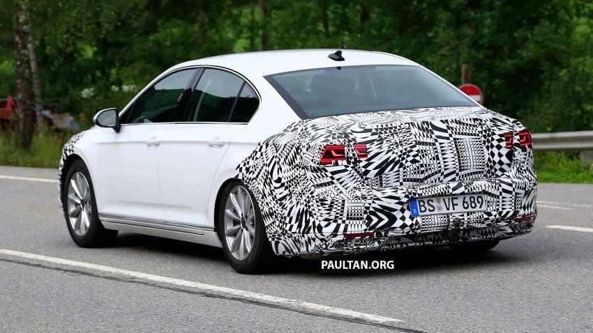 SPIED: Volkswagen Passat facelift to get Arteon look? Image #827185