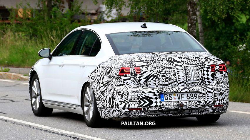 SPIED: Volkswagen Passat facelift to get Arteon look? Image #827186