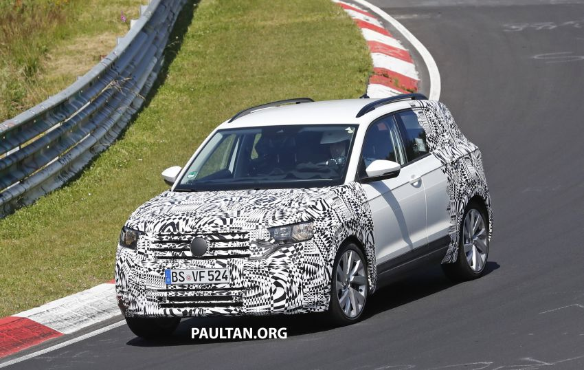 SPYSHOTS: Volkswagen T-Cross testing at the 'Ring Image #832084