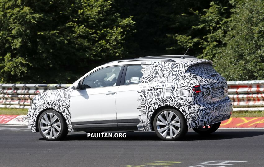 SPYSHOTS: Volkswagen T-Cross testing at the 'Ring Image #832087