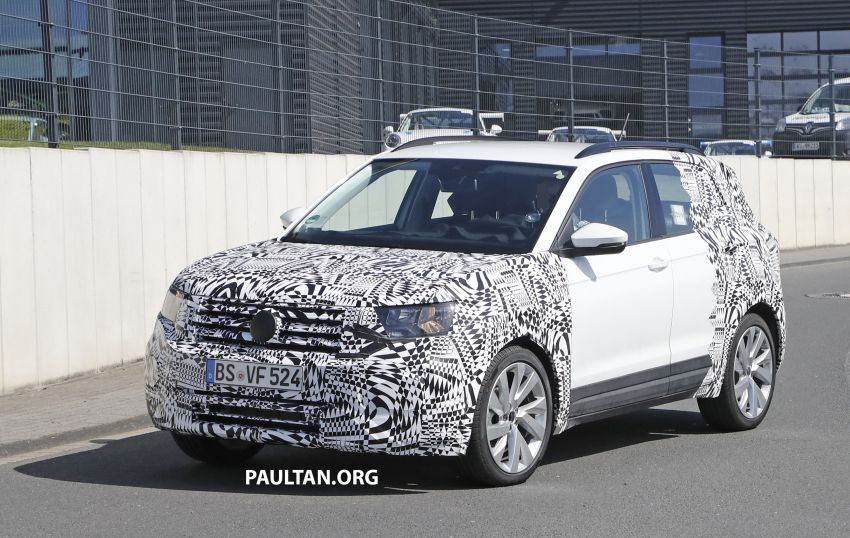 SPYSHOTS: Volkswagen T-Cross testing at the 'Ring Image #832075