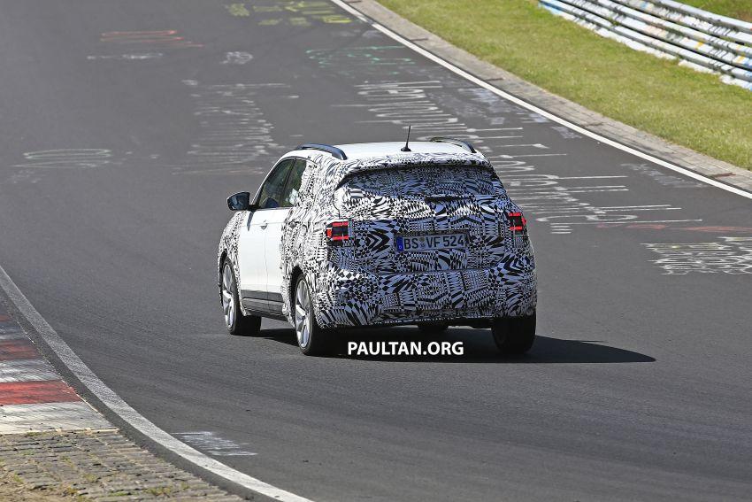 SPYSHOTS: Volkswagen T-Cross testing at the 'Ring Image #832100