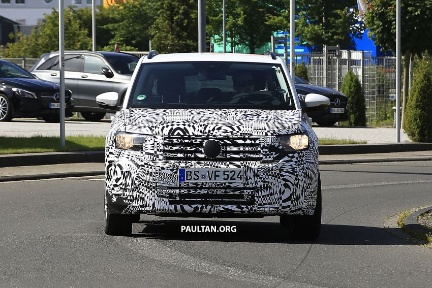 SPYSHOTS: Volkswagen T-Cross testing at the 'Ring Image #832103