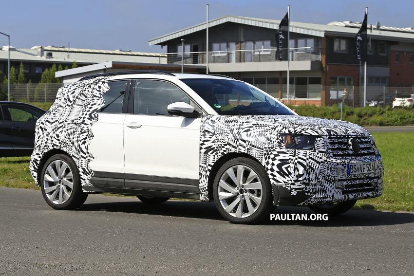 SPYSHOTS: Volkswagen T-Cross testing at the 'Ring Image #832109