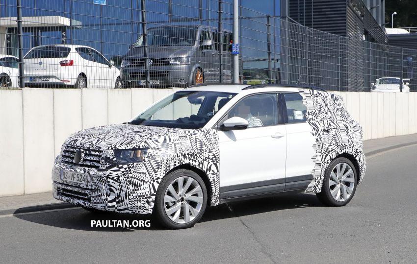 SPYSHOTS: Volkswagen T-Cross testing at the 'Ring Image #832076