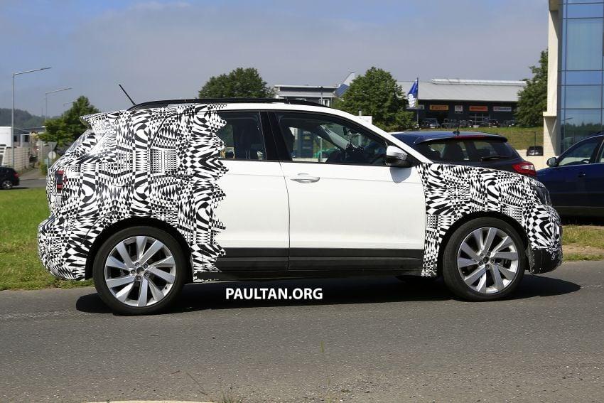 SPYSHOTS: Volkswagen T-Cross testing at the 'Ring Image #832111