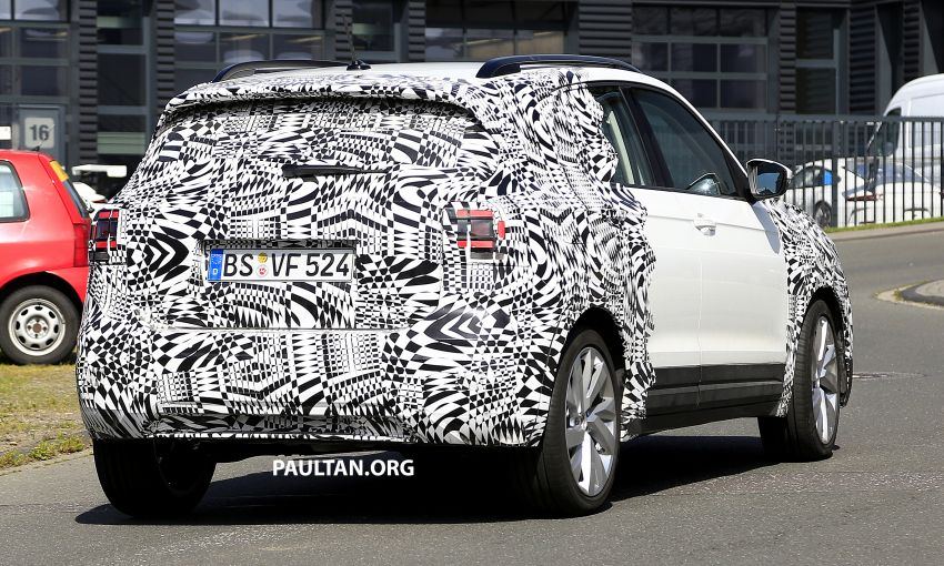 SPYSHOTS: Volkswagen T-Cross testing at the 'Ring Image #832116