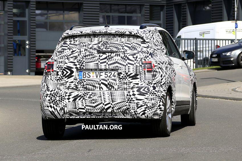 SPYSHOTS: Volkswagen T-Cross testing at the 'Ring Image #832118