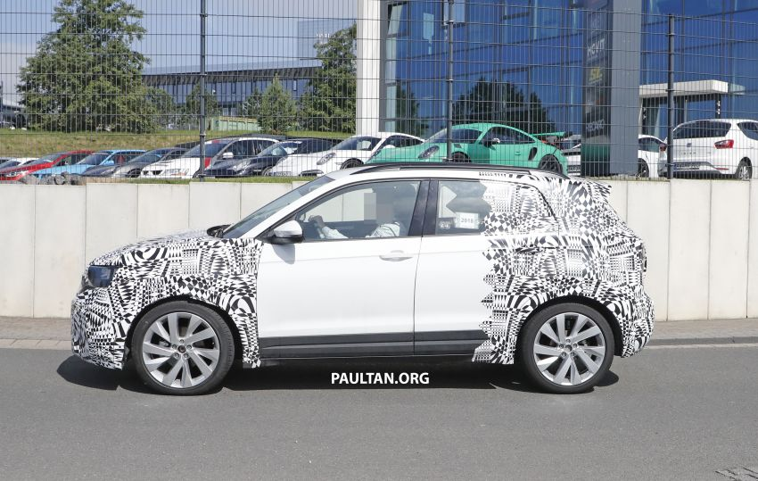 SPYSHOTS: Volkswagen T-Cross testing at the 'Ring Image #832077