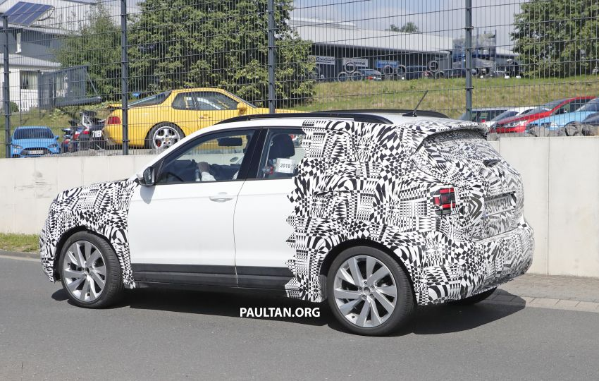 SPYSHOTS: Volkswagen T-Cross testing at the 'Ring Image #832078