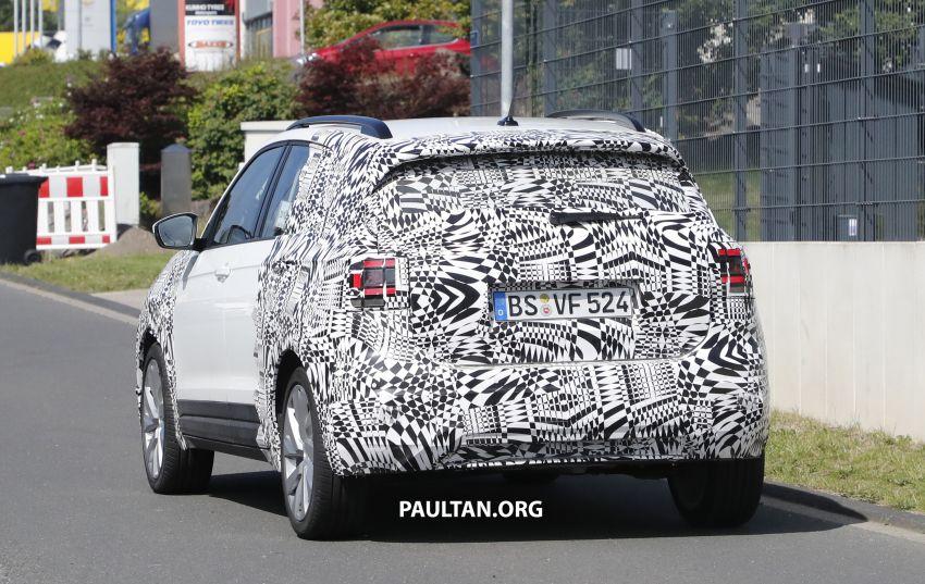 SPYSHOTS: Volkswagen T-Cross testing at the 'Ring Image #832081