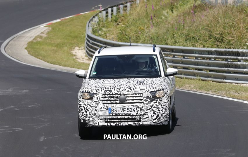 SPYSHOTS: Volkswagen T-Cross testing at the 'Ring Image #832082