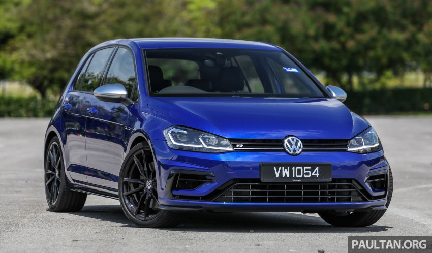 FIRST DRIVE: 2018 Volkswagen Golf GTI and R Mk7.5 Image #826834