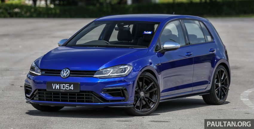 FIRST DRIVE: 2018 Volkswagen Golf GTI and R Mk7.5 Image #826835