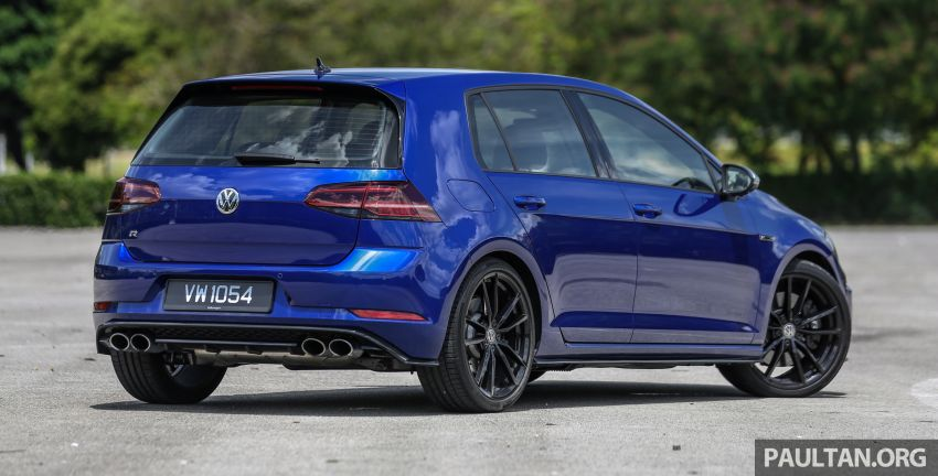 FIRST DRIVE: 2018 Volkswagen Golf GTI and R Mk7.5 Image #826840