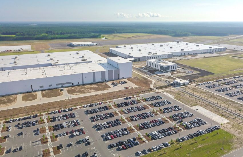 Volvo opens first US factory in S.Carolina, builds S60 Image #829843