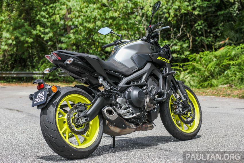Honda CB650F, Kawasaki Z900 ABS, Triumph 765S, Yamaha MT-09 – which RM50k bike is best for you? Image #829668