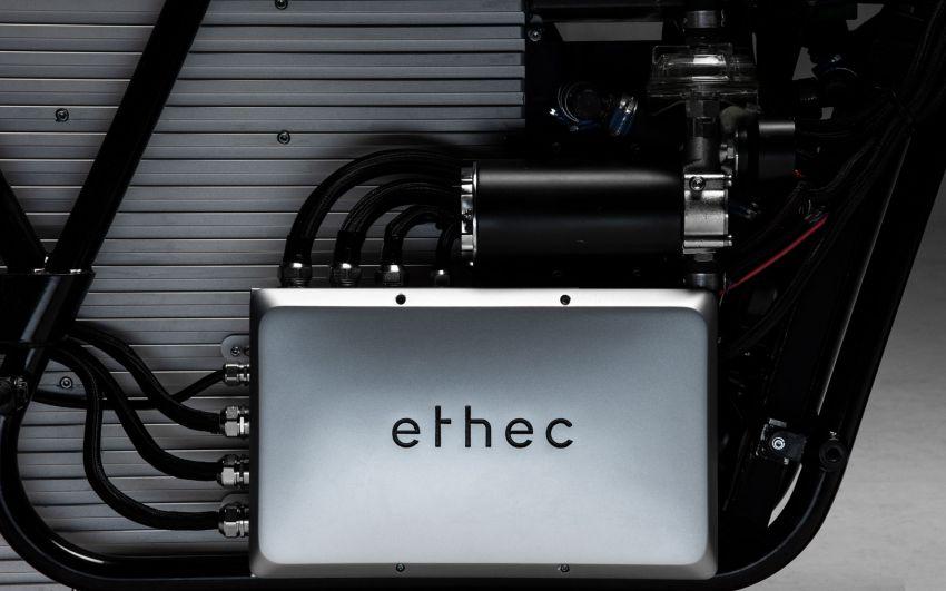 2018 Ethec electric bike promises 400 km range Image #835027