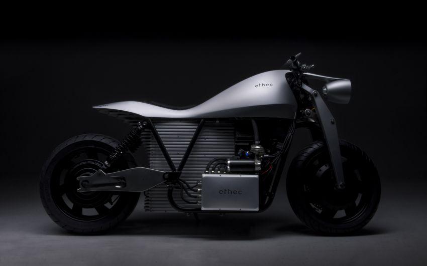 2018 Ethec electric bike promises 400 km range Image #835032