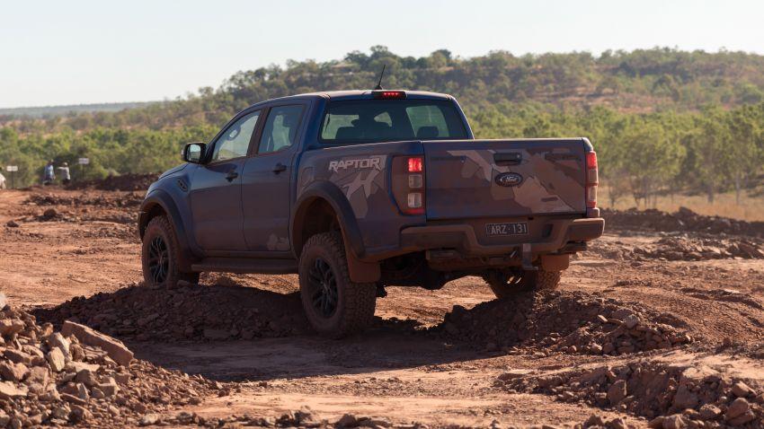 MEGA GALLERY: 2018 Ford Ranger Raptor in Darwin Image #844780