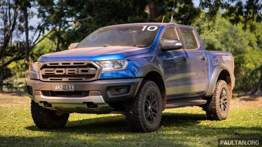 MEGA GALLERY: 2018 Ford Ranger Raptor in Darwin Image #844685