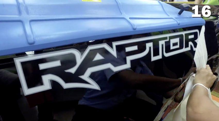 2018 Ford Ranger Raptor – Thai production kicks off Image #835529