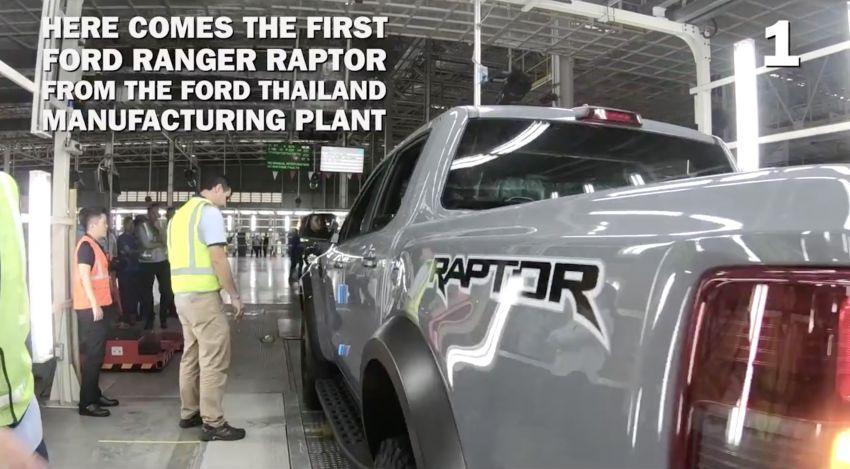 2018 Ford Ranger Raptor – Thai production kicks off Image #835518