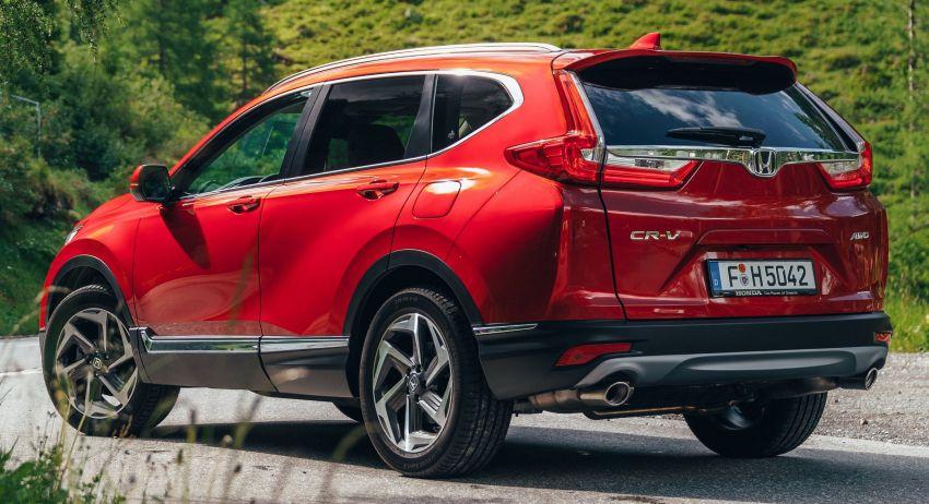Honda CR-V di Eropah dapat pilihan tujuh tempat duduk, transmisi manual bagi padanan enjin 1.5L turbo Image #840268