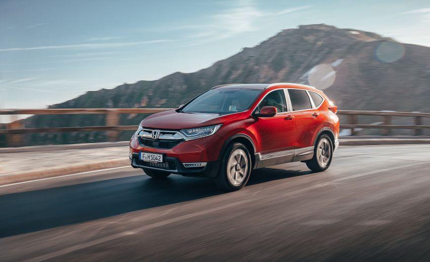 Honda CR-V di Eropah dapat pilihan tujuh tempat duduk, transmisi manual bagi padanan enjin 1.5L turbo Image #840282
