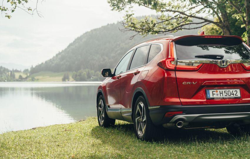Honda CR-V di Eropah dapat pilihan tujuh tempat duduk, transmisi manual bagi padanan enjin 1.5L turbo Image #840285