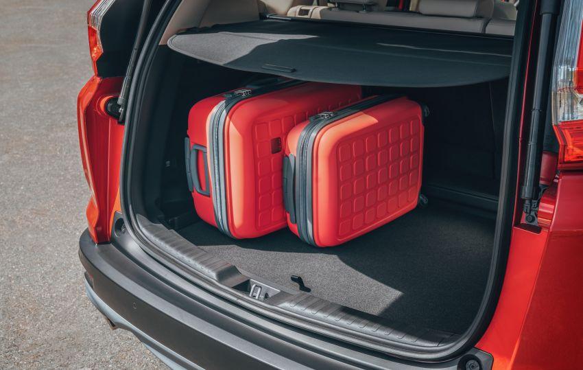 Honda CR-V di Eropah dapat pilihan tujuh tempat duduk, transmisi manual bagi padanan enjin 1.5L turbo Image #840287