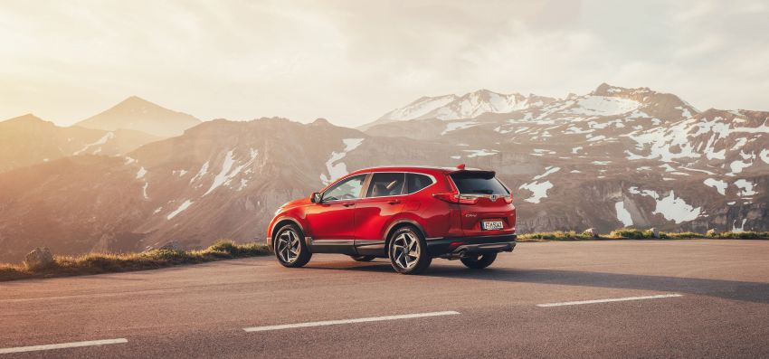Honda CR-V di Eropah dapat pilihan tujuh tempat duduk, transmisi manual bagi padanan enjin 1.5L turbo Image #840269