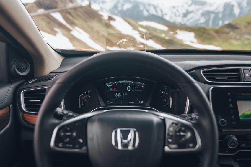 Honda CR-V di Eropah dapat pilihan tujuh tempat duduk, transmisi manual bagi padanan enjin 1.5L turbo Image #840291