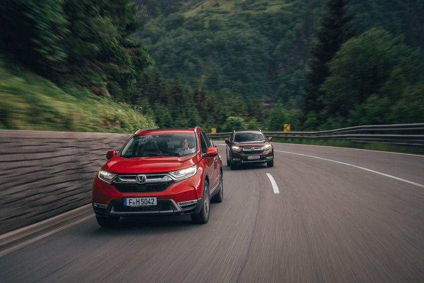 Honda CR-V di Eropah dapat pilihan tujuh tempat duduk, transmisi manual bagi padanan enjin 1.5L turbo Image #840293