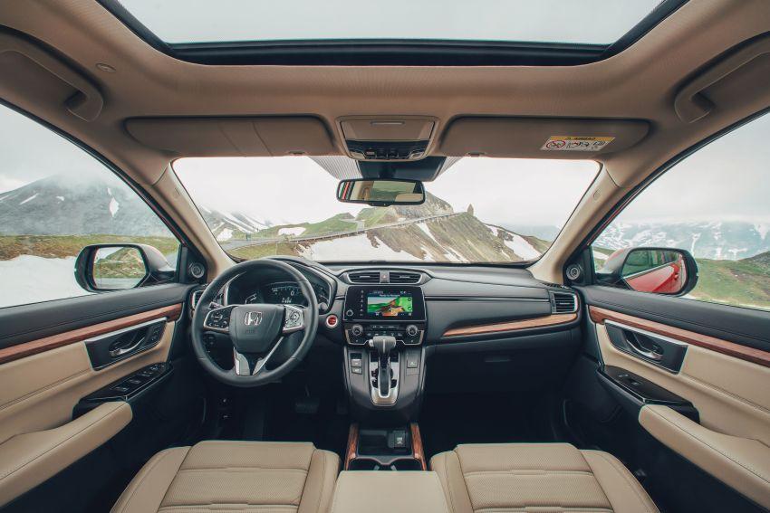 Honda CR-V di Eropah dapat pilihan tujuh tempat duduk, transmisi manual bagi padanan enjin 1.5L turbo Image #840295